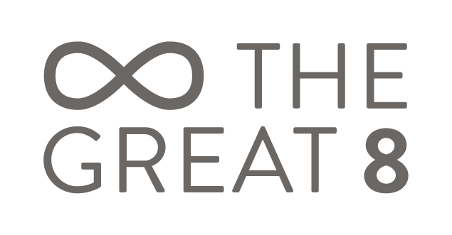 The Great 8 Home screen logo